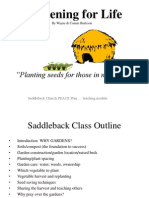 Gardening for Life Saddleback PDF