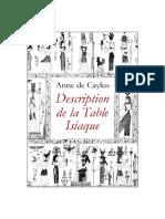 TableIsiaque