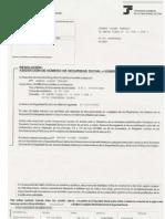 Resolucion Delnumero S.S