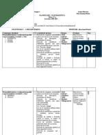 CDS integrat planificare calendaristica