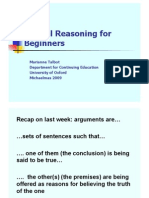 Critical Reasoning 2