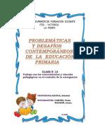 CLASE N° 13.Trabajo con los conocimientos y vínculos pedagógicos en el contexto de la emergencia.
