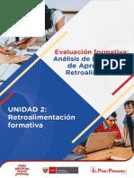 Retroalimentacion Formativa - Analisis de Evidencias Unidad 2 Ccesa007