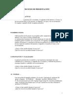 TECNICAS ACTIVAS GRUPALES de presentación
