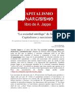 Capitalismo y narcisismo