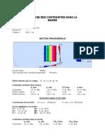 Note calcul de contrainte F=294.11 e=20cm