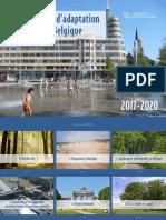 Plan national d'adaptation pour la Belgique 2017-2020 (2016)