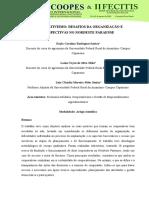 COOPERATIVISMO DESAFIOS DA ORGANIZAÇÃO E PERSPECTIVAS NO NORDESTE PARAENSE