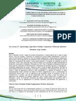 DIAGNÓSTICO DO CONHECIMENTO DE INFORMAÇÕES BÁSICAS PARA O USO DE AGROTÓXICOS POR PRODUTORES DE HORTALIÇAS DA ILHA DE CARATATEUA-PA
