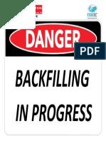 backflling