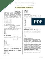 reforço de ideias_matrizes e determinantes