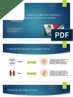 Comparación y análisis de código ético Argentina y
