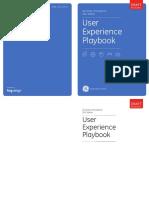 UX CEO PLaybook GE