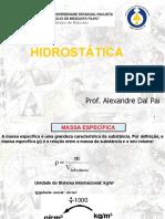Aula 12 - Hidrostática2