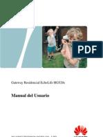 EchoLife HG520s Home Gateway User Manual-Spanish