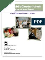 2009-2010 Utah Charter Schools Annual Report