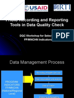 Recording and Reporting Based on FHSIS.ppt