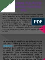 PROBLEMAS POLÍTICOS DEL PARTIDO POLÍTICO PPK.pptx