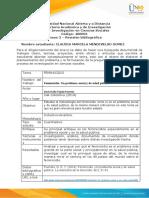 Anexo 2 – Revisión bibliográfica -claudia marcela mendivelso gomez