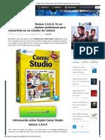 Digital Comic Studio Deluxe Full v1.0.6.0, Programa para Crear Comics