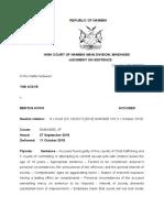 S v Koch SENTENCE (CC 20-2017) [2018] NAHCMD 318 (11 October 2018)