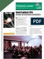 Award Ecohitech 2010
