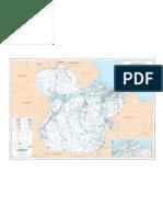 Mapa rodoviario do Para