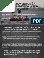 POBREZA Y EXCLUSIÓN SOCIAL EN AMÉRICA LATINA Y EL CARIBE