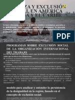 POBREZA Y EXCLUSIÓN SOCIAL EN AMÉRICA LATINA