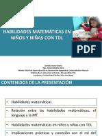 TDL y matemáticas