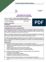 Programa Portugues I UCASAL