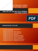Department of Political Science - Pre 2020 Elections Survey Analysis (1)