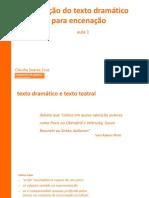 Slides_TRADUÇÃO DE TEXTO DRAMÁTICO PARA ENCENAÇÃO
