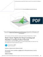 Basic Linear Algebra for Deep Learning and Machine Learning Python Tutorial _ by Towards AI Team _ Towards AI _ Oct, 2020 _ Medium.pdf