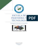 ESCUELA DE INGENIERIA Y TECNOLOGIA