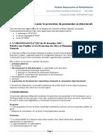 Législation nationale et conservation du patrimoine2
