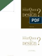 Pourquoi pas le design ?