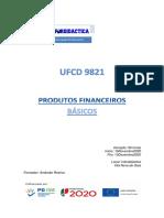Manual 9821 Produtos Financeiros Básicos