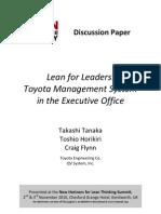 Paper Lean for Leaders
