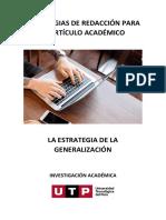 S13_Manual_Estrategias de redacción para el artículo académico_Estrategia de la generalización
