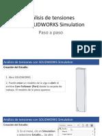 PPT - Análisis de tensiones con SOLIDWORKS Simulation Paso a paso