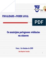 Fiscalidade e Poder Local