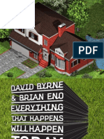 David Byrne and Brian Eno - Everything That Happens Will Happen Today booklet