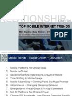 Top Mobile Internet Trends Meeker