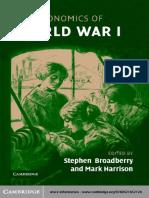 Broadberry & Harrison - The Economics of World War I (2005).pdf