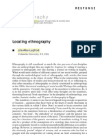 Abu-Lughod locating ethnography
