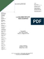 Landlord-TenantProceedings