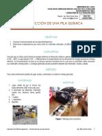 Laboratorio Electromagnetismo - Construcción de una pila química