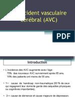 4-L' accident vasculaire cérébral (AVC) - Copie.ppt