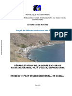 Etude-dimpact-environnemental-et-social-rehabilitation-de-la-route-Figueira-Grande-Faja-DAgua-Esparadinha